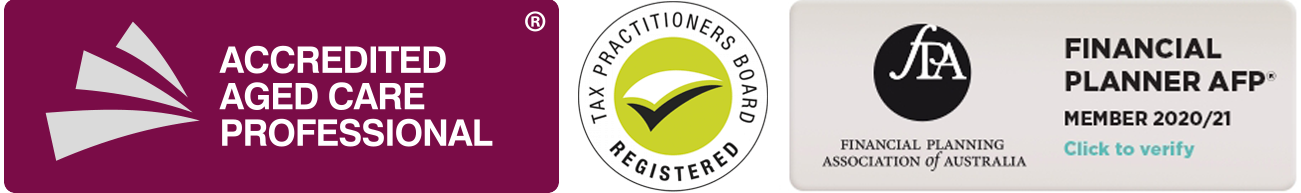 Accredited aged care professional and registered tax practitioner